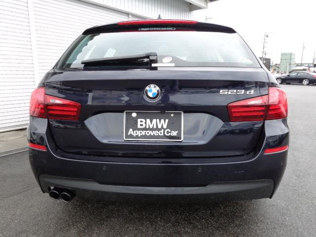 BMW BMW 523dツーリングMスポーツ19AWブラウン革認定中古車