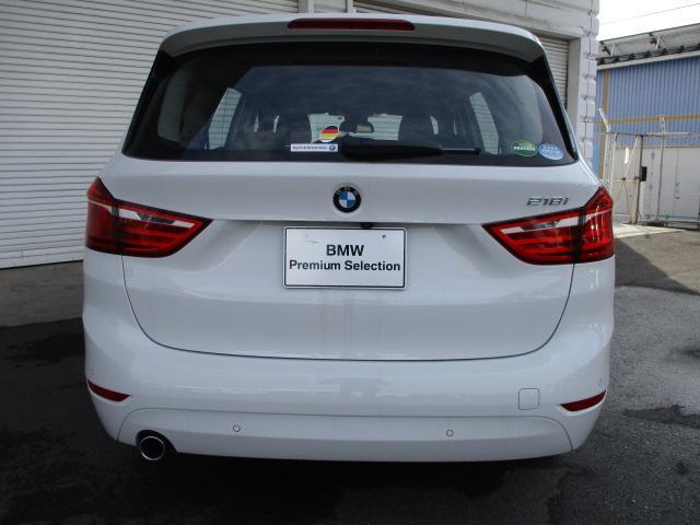 BMW BMW 218iグランツアラープラスPKG弊社デモカー 認定中古車