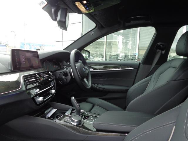 530i Mスポーツ19AW黒革デモカー認定中古車(14枚目)