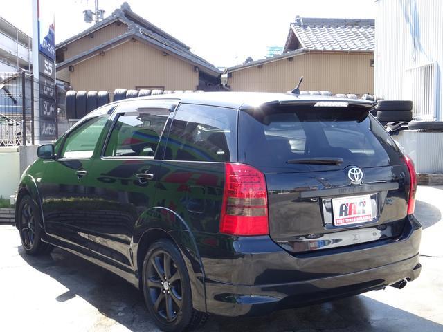 トヨタ ウィッシュ Z 1オーナー車禁煙車純正DVDナビキセノンHユーザー買取車