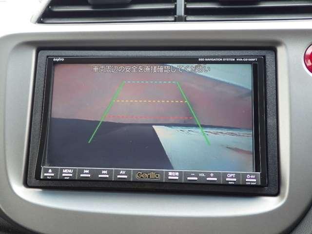ホンダ フィット G スマートスタイルエディション 社外SSDナビ リアカメラ