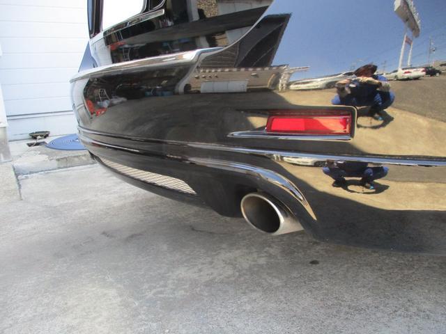 250XV 車高調 22アルミ サンルーフ HDDナビ&TV&バックモニタ&サイドカメラ 革シート(6枚目)