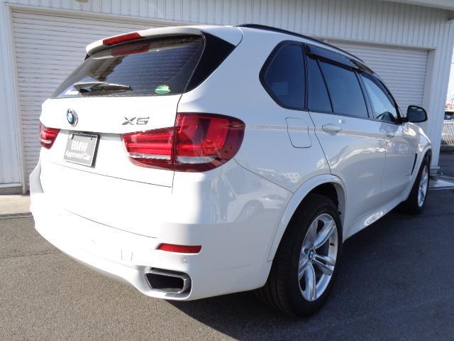 BMW BMW X5 xDrive35d MスポーツセレクトP黒革SR認定中古車