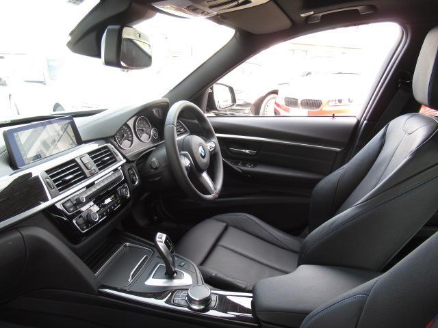 318iツーリングMスポーツ19AW黒革パノラマSR認定車(15枚目)
