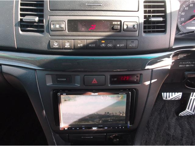 トヨタ マークIIブリット 2.0iR HDDナビ 地デジTV サンルーフ