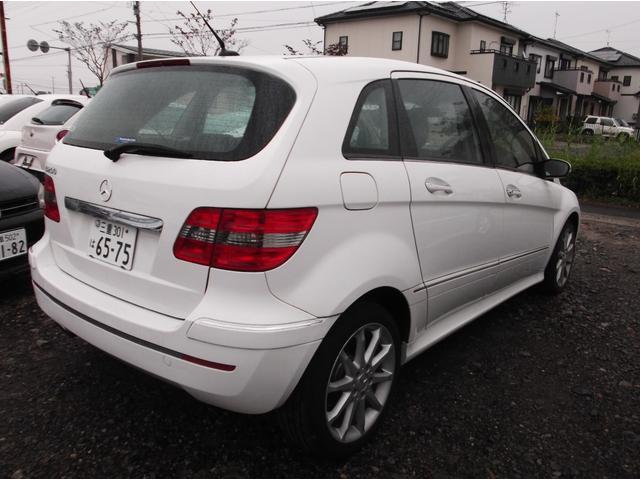 B170 スポーツPKG HID ETC キーレス 純正アルミ ハーフレザーシート(3枚目)
