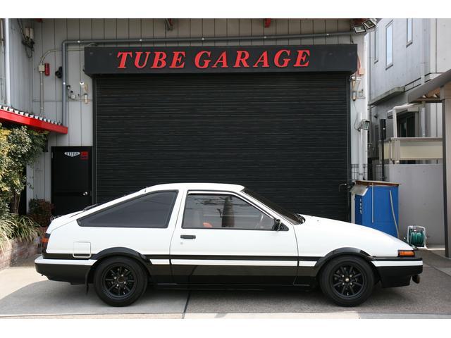 トヨタ スプリンタートレノ GT APEX 3ドア 外装同色NEWペイント 1型モデル