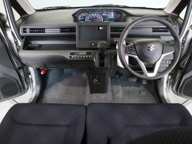 広い視界、運転しやすい大空間です。