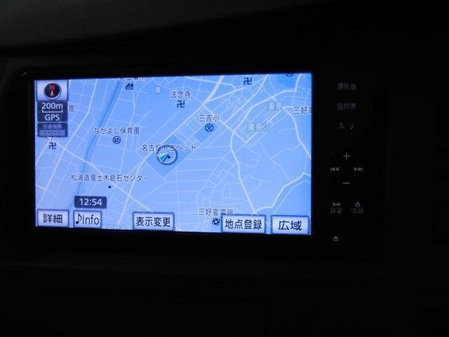プラタナ Vセレクション フルセグ メモリーナビ DVD再生 ミュージックプレイヤー接続可 バックカメラ ETC 電動スライドドア HIDヘッドライト 乗車定員7人 3列シート(6枚目)