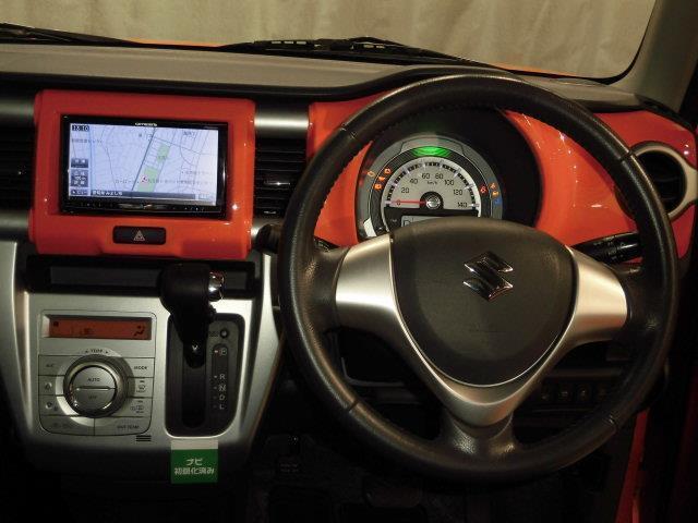 X 地デジSDナビ DVD再生 ミュージックプレイヤー接続可 衝突被害軽減システム HIDヘッドライト アイドリングストップ 運転席シートヒーター スマートキー(4枚目)