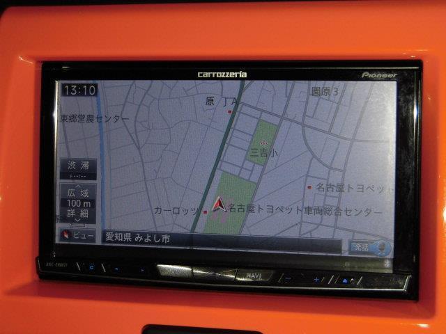 X 地デジSDナビ DVD再生 ミュージックプレイヤー接続可 衝突被害軽減システム HIDヘッドライト アイドリングストップ 運転席シートヒーター スマートキー(5枚目)