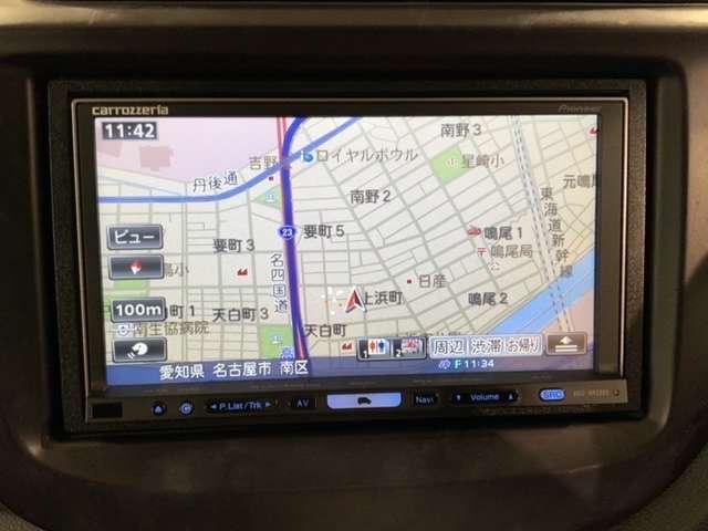 シーズ 禁煙車 社外HDDナビAVIC-HRZ099 フルセグ DVD再生 ETC スマートキー ドアバイザー(12枚目)