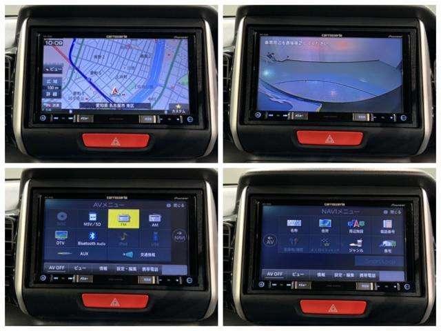 G・Lパッケージ 1年保証 禁煙車 1オーナー 社外ナビAVIC-RZ800 フルセグ Bluetooth DVD再生 Rカメラ ETC HID 電動スライドドア スマートキー(11枚目)