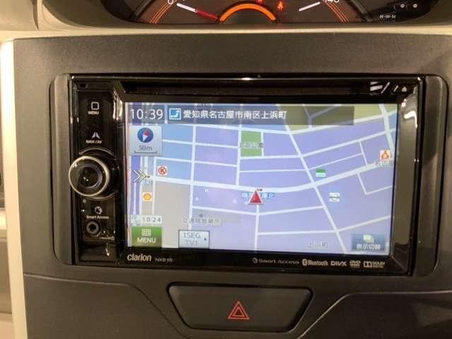 X SA 1年保証 禁煙車 スマートアシスト 社外ナビNX515 Bluetooth DVD再生 電動スライド スマートキー(14枚目)