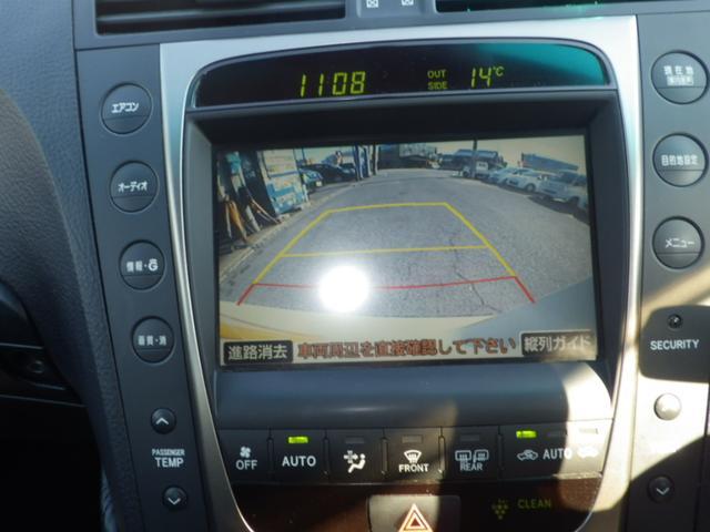 レクサス GS GS350 HDDナビ バックカメラ