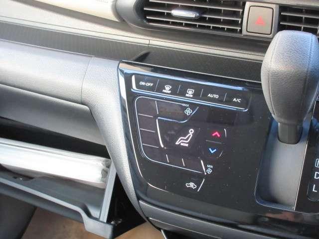 [オートエアコン]設定温度に合わせて自動で快適な室内温度を保ちます♪室内が快適だとドライブも楽しくなりますね☆
