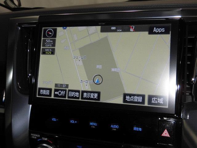 2.5Z Aエディション フルセグ メモリーナビ DVD再生 ミュージックプレイヤー接続可 バックカメラ 衝突被害軽減システム ETC 両側電動スライド LEDヘッドランプ 乗車定員7人 3列シート フルエアロ(5枚目)