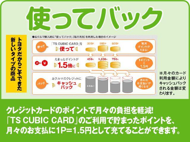 「TS CUBIC CARD」のご利用で貯まったポイントを、月々のお支払いに1P=1.5円として充てることができます。