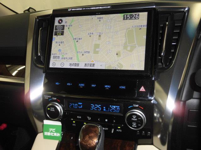 2.5G フルセグ メモリーナビ DVD再生 ミュージックプレイヤー接続可 後席モニター バックカメラ 衝突被害軽減システム ETC 両側電動スライド LEDヘッドランプ 乗車定員7人 3列シート(10枚目)