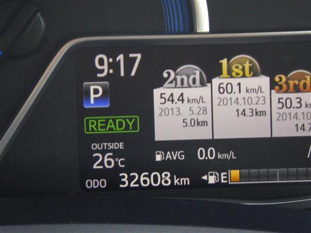 トヨタ カローラアクシオ ハイブリッドG フルセグHDDナビ キーレスエントリー
