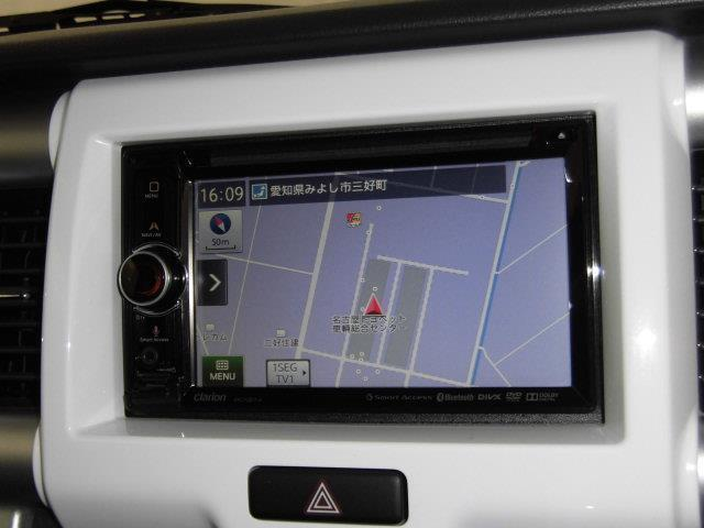 X ワンセグ メモリーナビ DVD再生 ミュージックプレイヤー接続可 衝突被害軽減システム ETC HIDヘッドライト アイドリングストップ(5枚目)