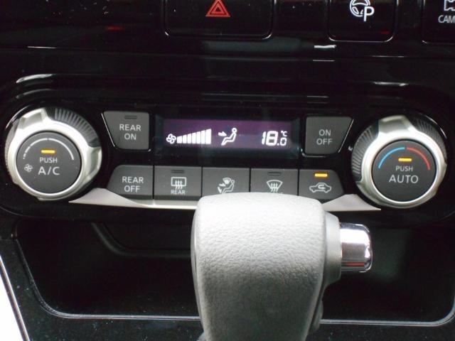 オートエアコン付で車内はいつも快適に♪