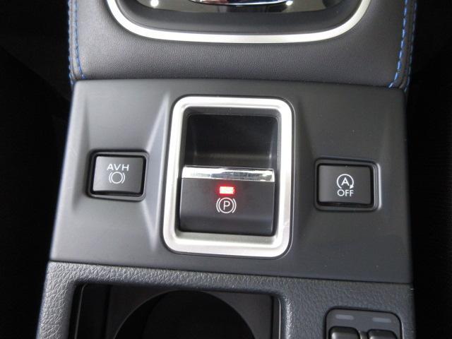 電動パーキングブレーキ パーキングブレーキをスイッチで作動・解除が可能。発進時、アクセルを踏むだけでパーキングブレーキを解除できます。