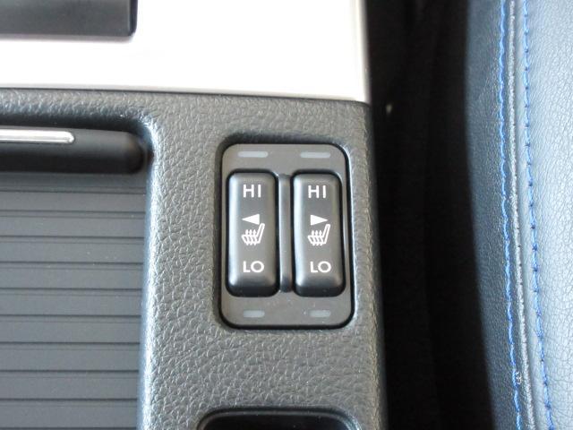 運転席と助手席にシートヒーターを装備。冬もリラックスして乗れます。