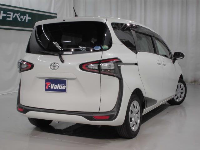 トヨタ シエンタ X クリーニング済 SDナビワンセグ片側電動パワースライド