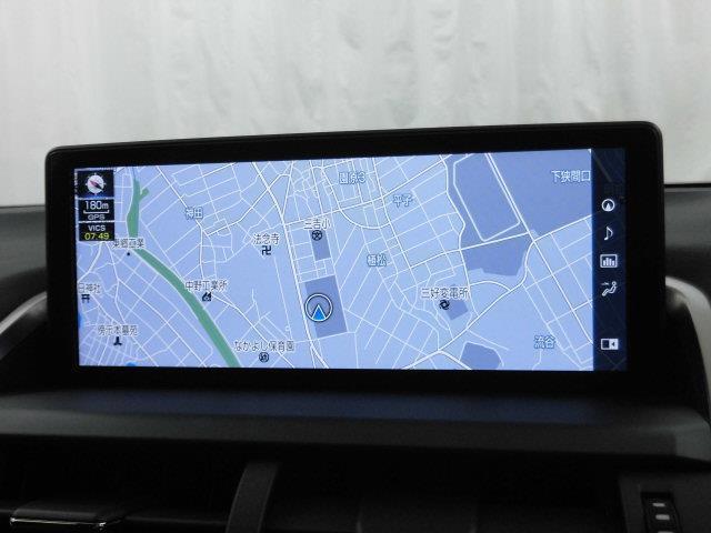 NX300 Fスポーツ 革シート サンルーフ フルセグ メモリーナビ DVD再生 ミュージックプレイヤー接続可 バックカメラ 衝突被害軽減システム ETC LEDヘッドランプ アイドリングストップ(10枚目)