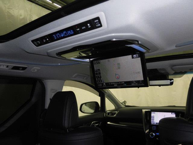 2.5S Cパッケージ サンルーフ フルセグ メモリーナビ DVD再生 ミュージックプレイヤー接続可 後席モニター バックカメラ 衝突被害軽減システム ETC 両側電動スライド LEDヘッドランプ 乗車定員7人 3列シート(9枚目)