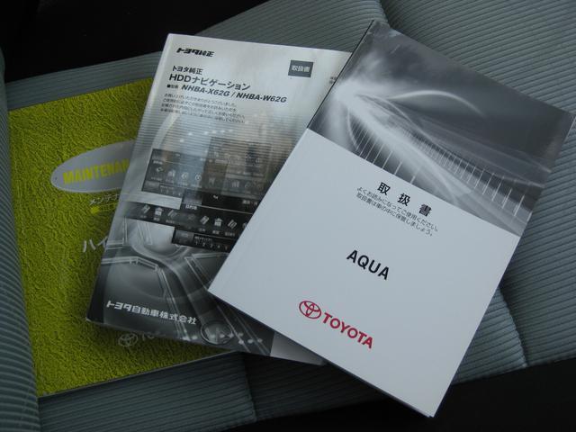 トヨタ アクア S HDDナビ スマートキー CD