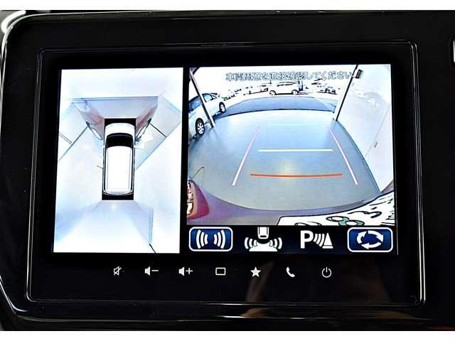 ハイブリッドMZ 全方位カメラパッケージ 両側電動スライドドア・全周囲カメラ (4枚目)