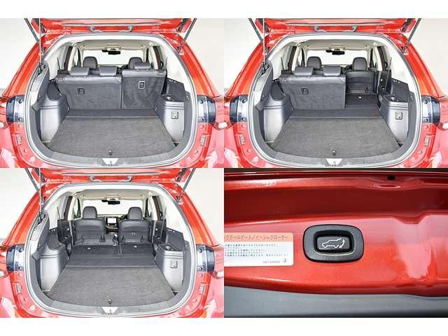 Gプラスパッケージ AC100V電源1500W・スマホ連携ナビ クルコン LEDヘッド フルセグTV メモリーナビ 4WD ETC シートヒーター 電動リアゲート アラウンドモニター サポカー バックカメラ ワンオーナー(13枚目)