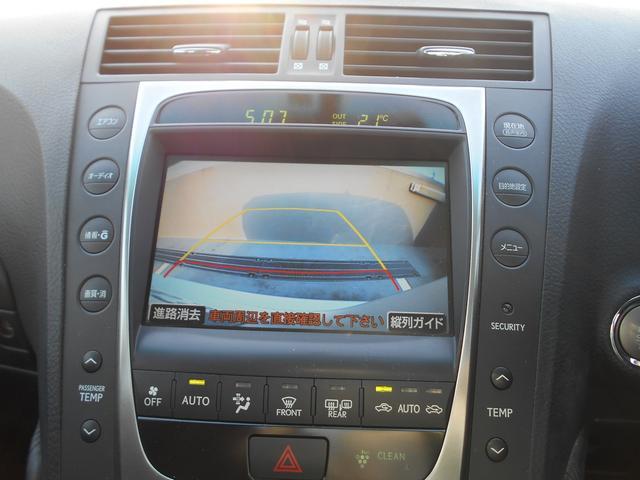 レクサス GS GS350 HDDナビ バックモニター Fシート左右パワー