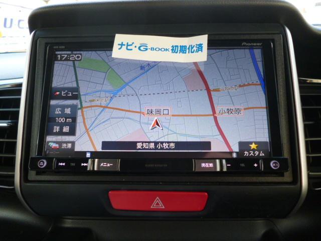 ホンダ N BOXカスタム G・ターボLパッケージ メモリ-ナビフルセグバックカメラ