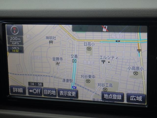 トヨタ パッソ X  CD SDナビ ETC キーレス DVD再生 記録簿
