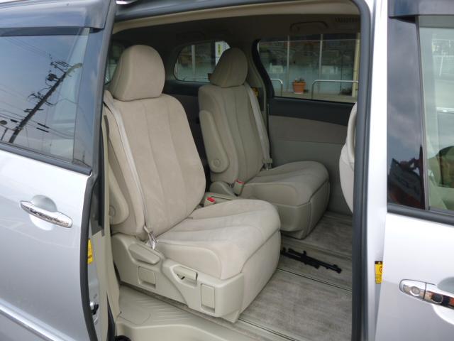 トヨタ エスティマハイブリッド X 7人乗り 片側パワースライドドア HDDナビ Bモニター