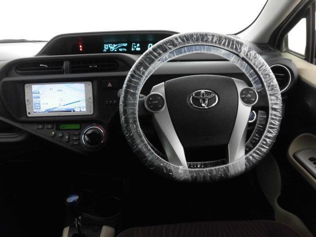 トヨタ アクア G SDナビ ワンセグ バックモニター