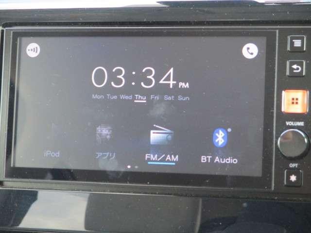 ディスプレイ表示ラジオです。