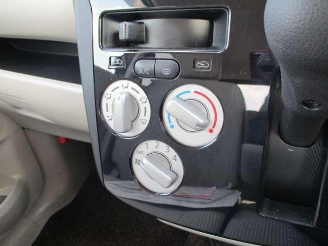 エアコン付きですので、気温に関わらず春夏秋冬快適運転が可能です。