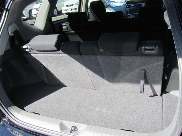 トヨタ プリウスアルファ S チューン ブラック HDDナビ フルセグ バックカメラ