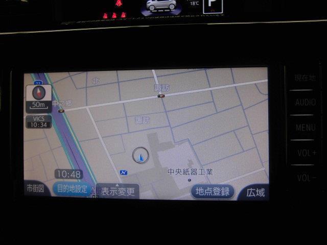 カスタムG S ワンセグ メモリーナビ バックカメラ 衝突被害軽減システム ETC 両側電動スライド LEDヘッドランプ アイドリングストップ(9枚目)