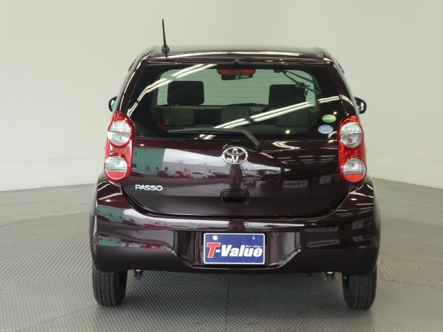 トヨタ パッソ X クツロギ スマートキー ベンチシート CD付き