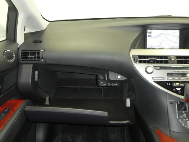 レクサス RX RX450h バージョンL HDDナビ 本革シート
