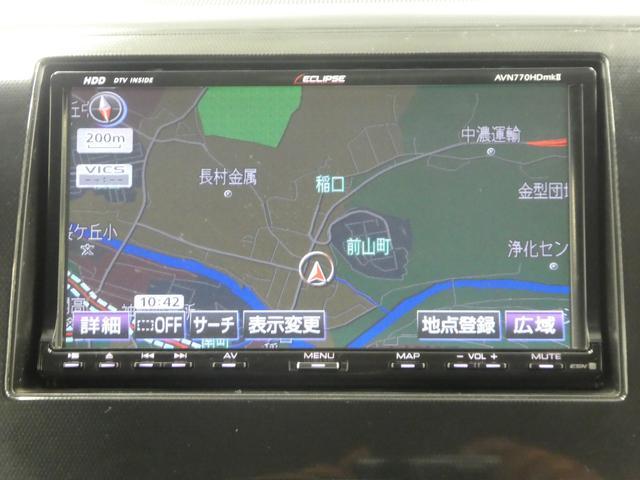 スズキ ワゴンRスティングレー X HDDナビ フルセグTV スマートキー ベンチシート