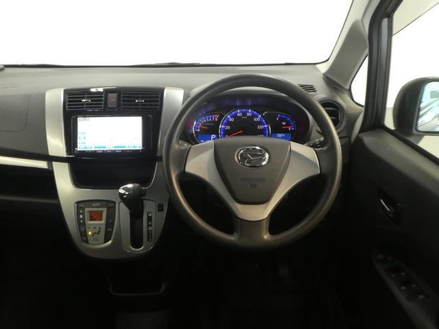 運転席目線の画像です。視界も広く運転しやすいですよ。