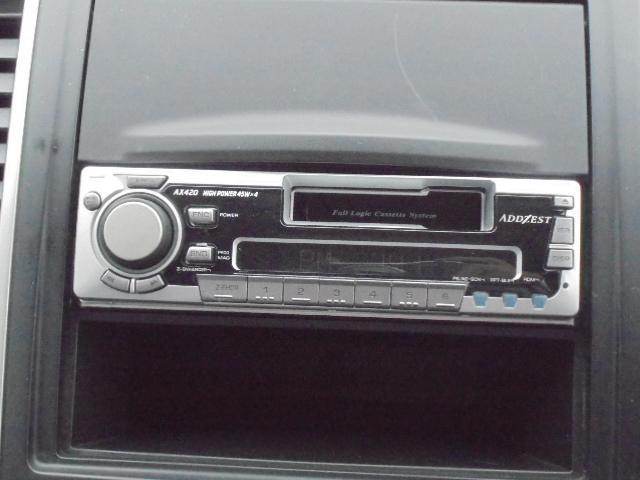 日産 ウイングロード 15RX FOUR カセットラジオ