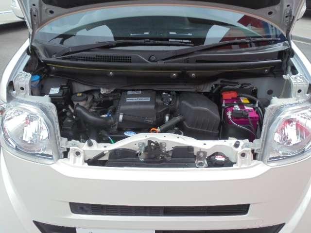 アイドリングストップで低燃費なエンジンと、CVTのコンビ!無駄なガソリンを節約し低燃費に貢献します。
