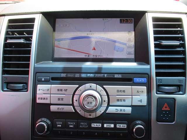 メーカーオプションのHDDナビ装備、音楽録音機能やBluetooth対応でハンズフリーフォンも使えます